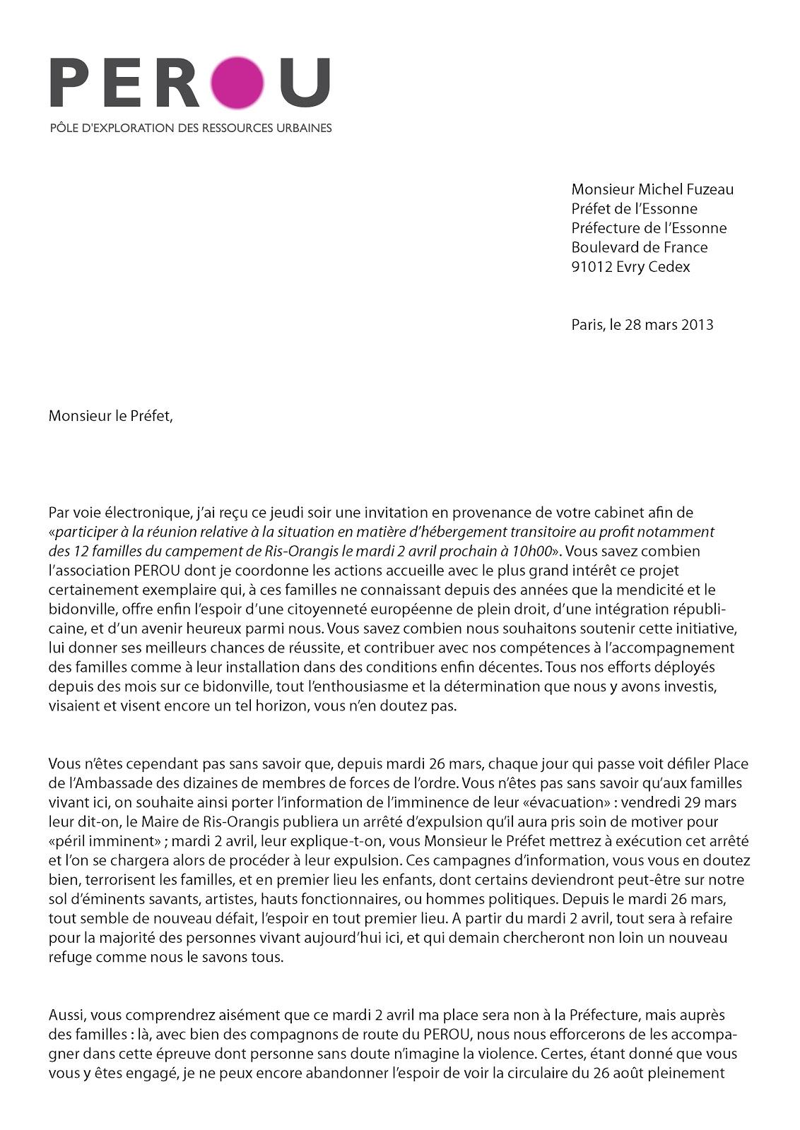 modele lettre a l u0026 39 ambassadeur