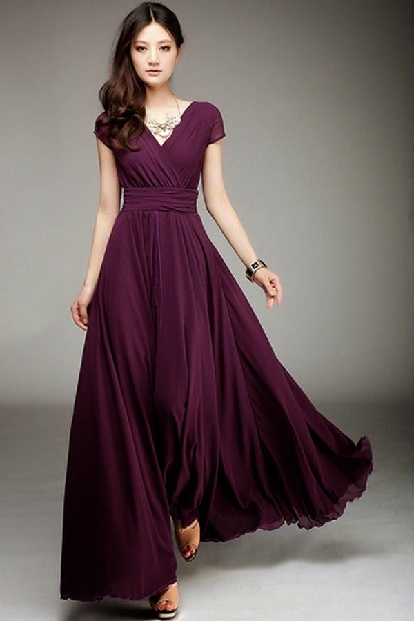 Long asian maxi dresses for weddings