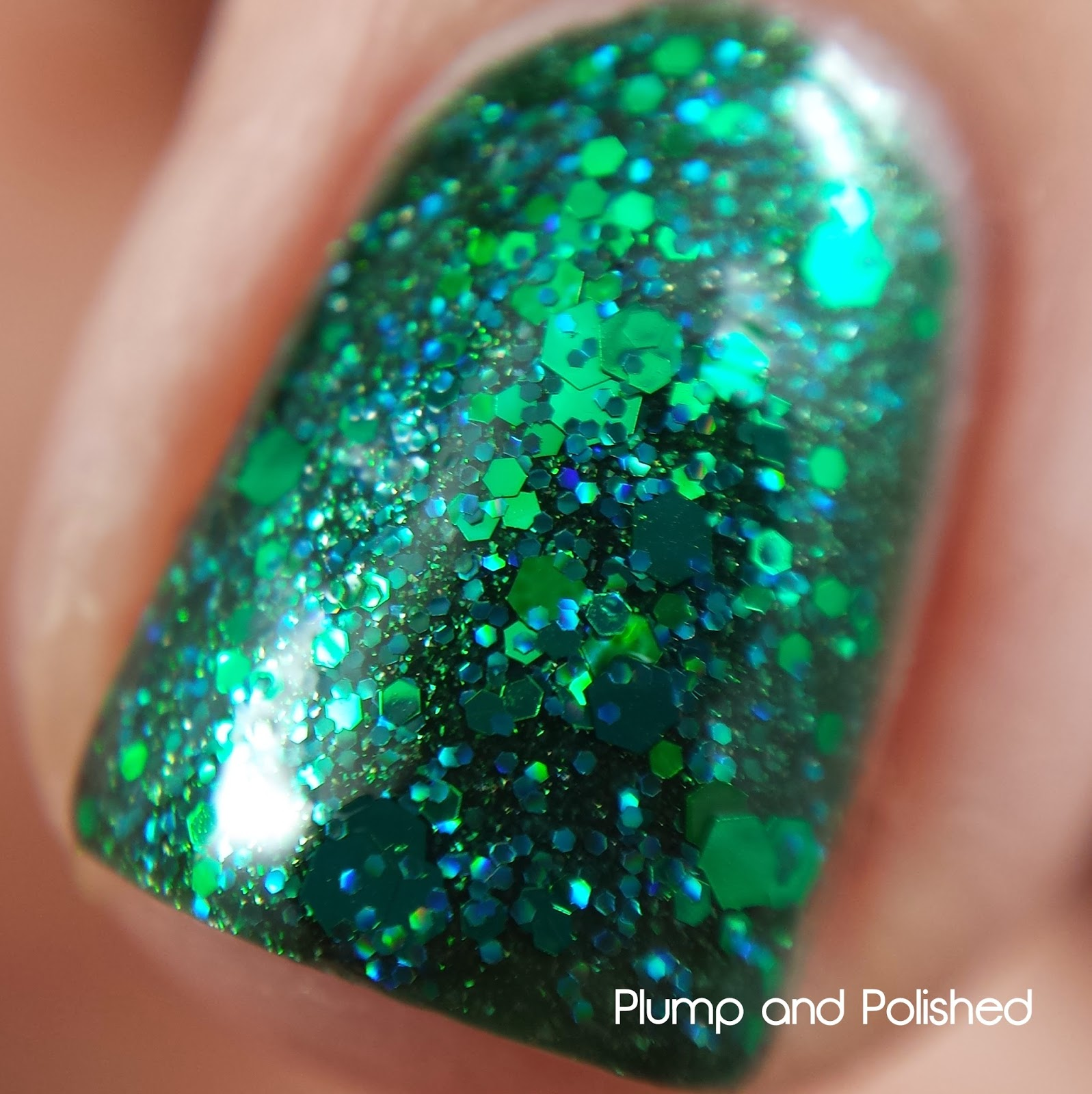 ellagee - Sparkling Gemstones: Crushed Emerald