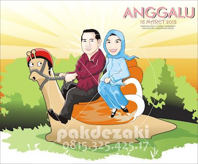 Cari Jasa Vector Tracing dan Kartun di Palembang