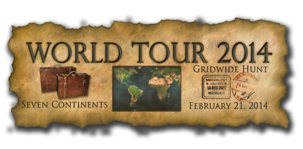 World Tour 2014 Gridwide Hunt