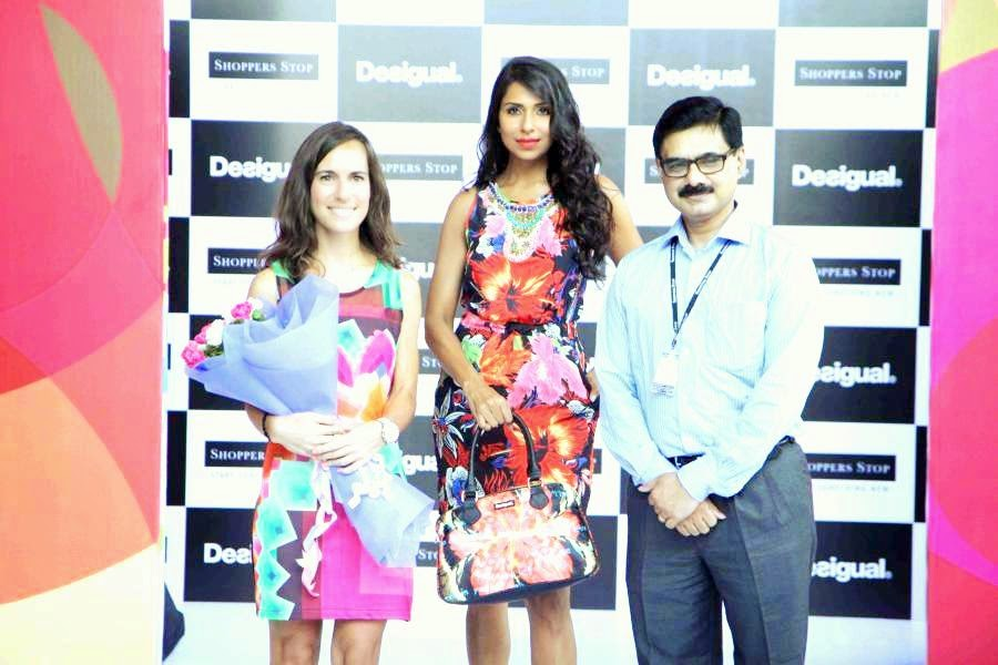 Shoppers Stop makes a big appearance Desigual's 1st shop-in-shop in India