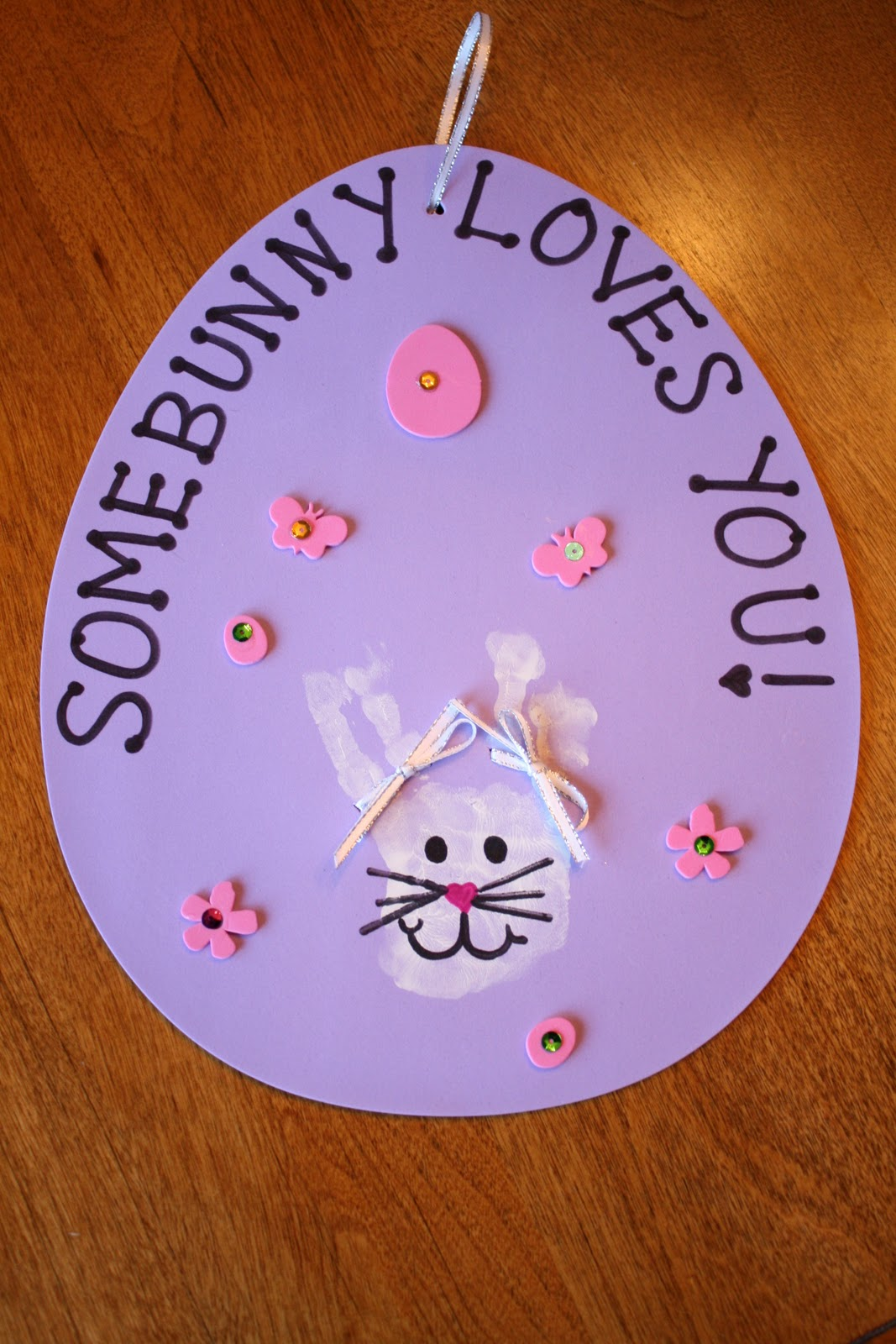 Little Literacy Learners SomeBUNNY Loves You Craft