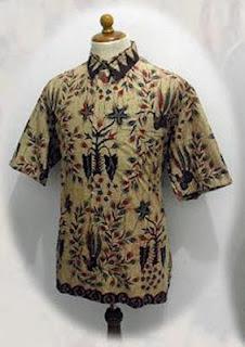 Model Baju Batik Pria Terbaru