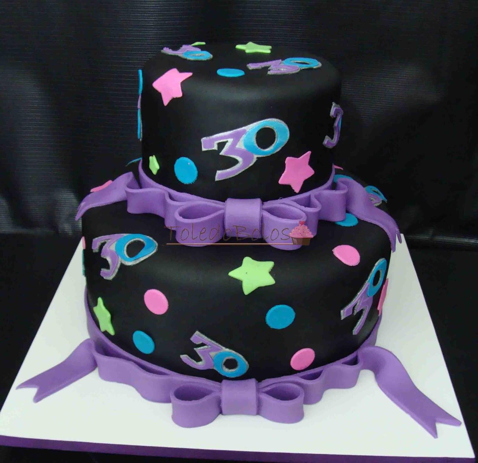 Toledo bolos bolos decorados cupcakes e macarons no rio de bolo para aniversrio de 30 anos altavistaventures Gallery