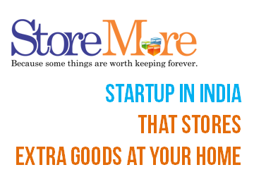 Store More a Startup in India that stores extra goods at your home