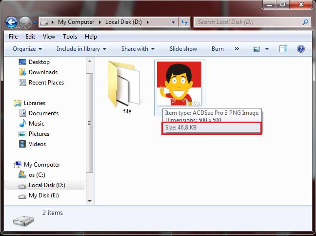 Menyembunyikan File ke Dalam Gambar Dengan Command Prompt