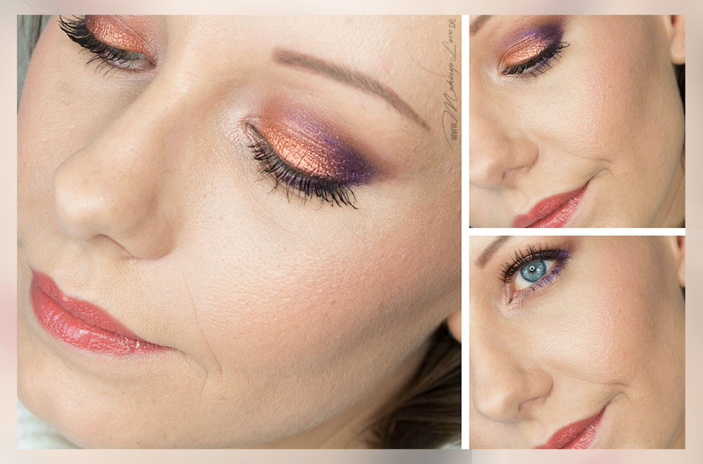 AMU EOTD FOTD Look Pigmente Makeup Inglot MAC Augenmakeup
