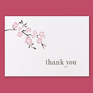 Wedding Thank You Note To Guests