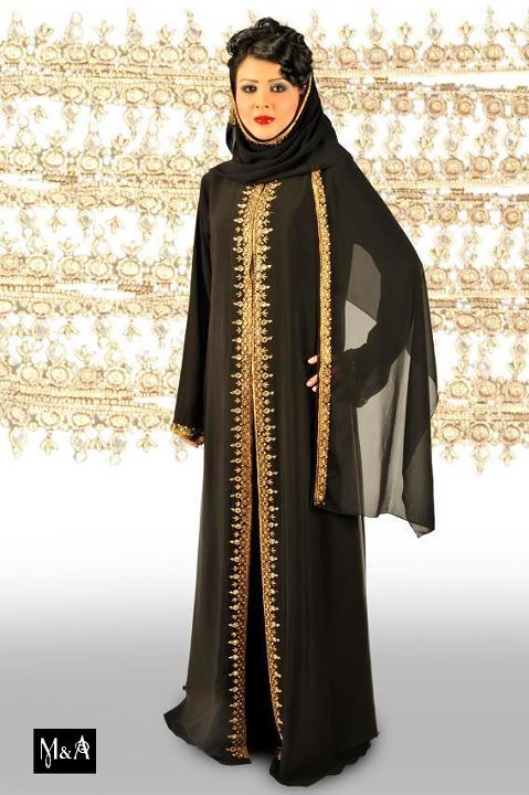 Abaya Styles http://asiandressing.blogspot.com/2012/05/new-abaya-style-latest-bridal-abayas.html