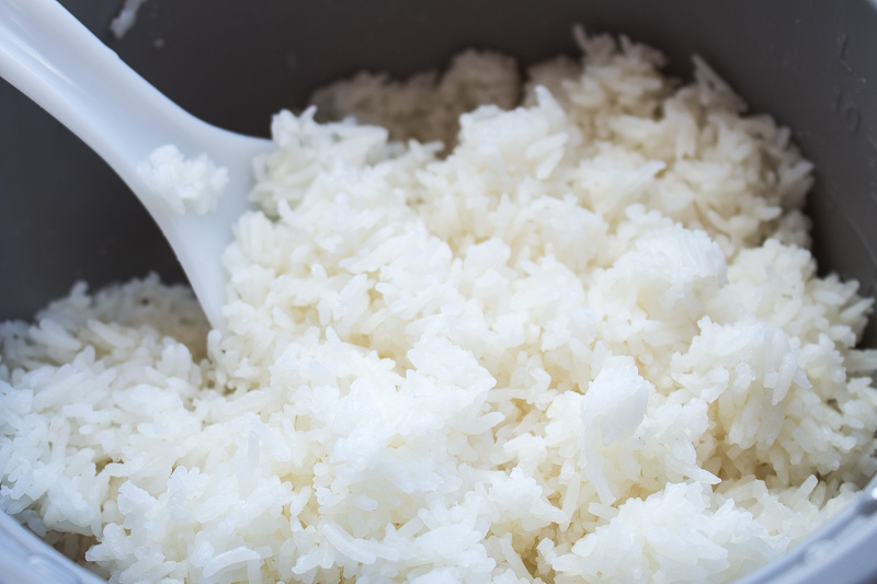 Fluffy white rice | Svelte Salivations