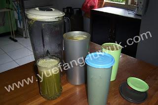 green smoothie siap minum
