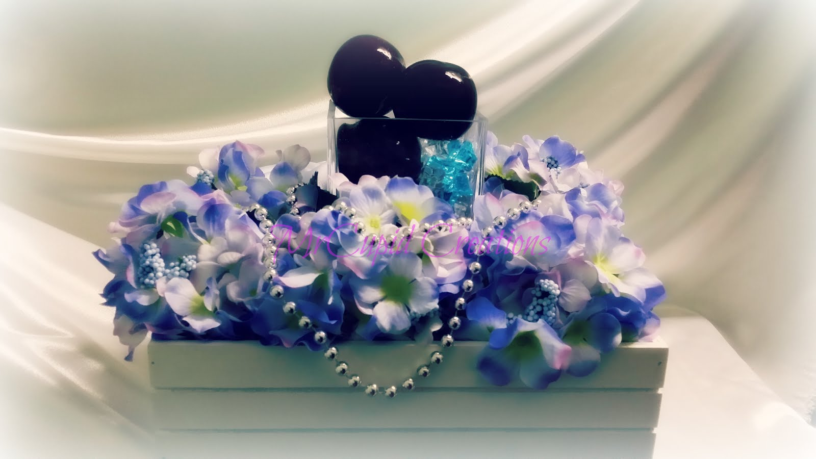 The Glass & Blue Lilac..