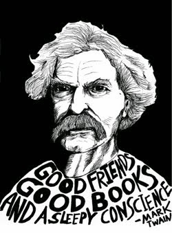 Mark Twain [Florida, MI, November 30, 1835–Redding, CT, April 21, 1910]