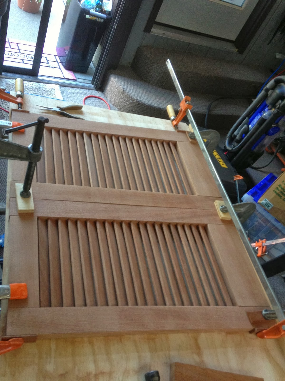 How To Paint Varnished Louvered Doors