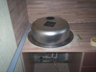 подготовка столешницы к выпиливанию отверстия под мойку