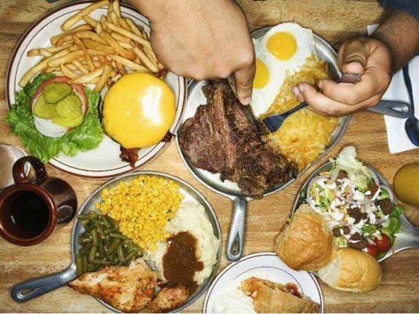 Consumo excesivo de alimentos