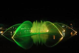 Air Mancur Kambang Iwak - Pariwisata Palembang Indonesia