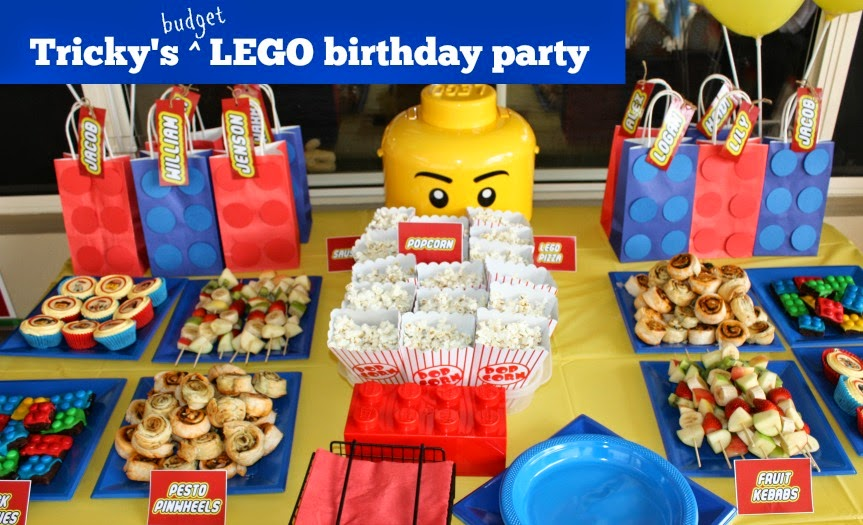 Where's My Glow? : LEGO birthday party (on a budget)