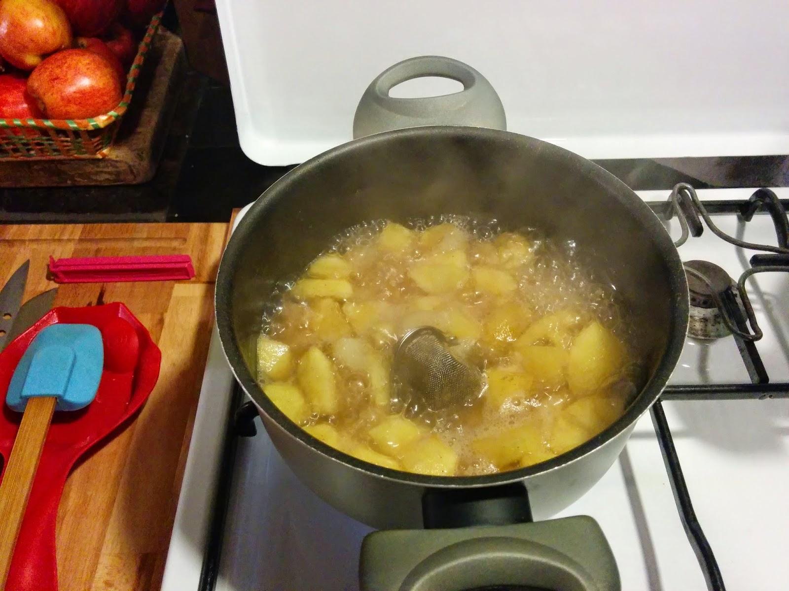 mele zucchero e cannella
