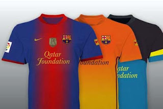 Barcelona New Uniform 2013