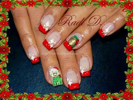 Маникюр Джуджето на Дядо Коледа