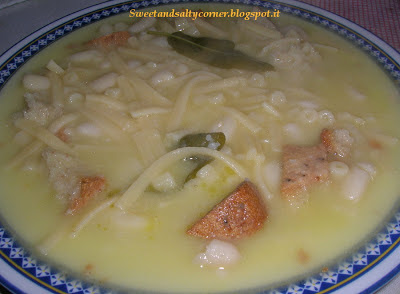 minestra di fagioli cannellini