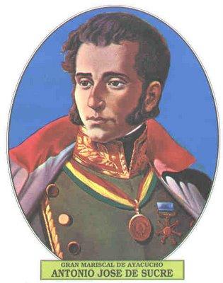03 de febrero de 1795 Natalicio de Antonio José de Sucre .