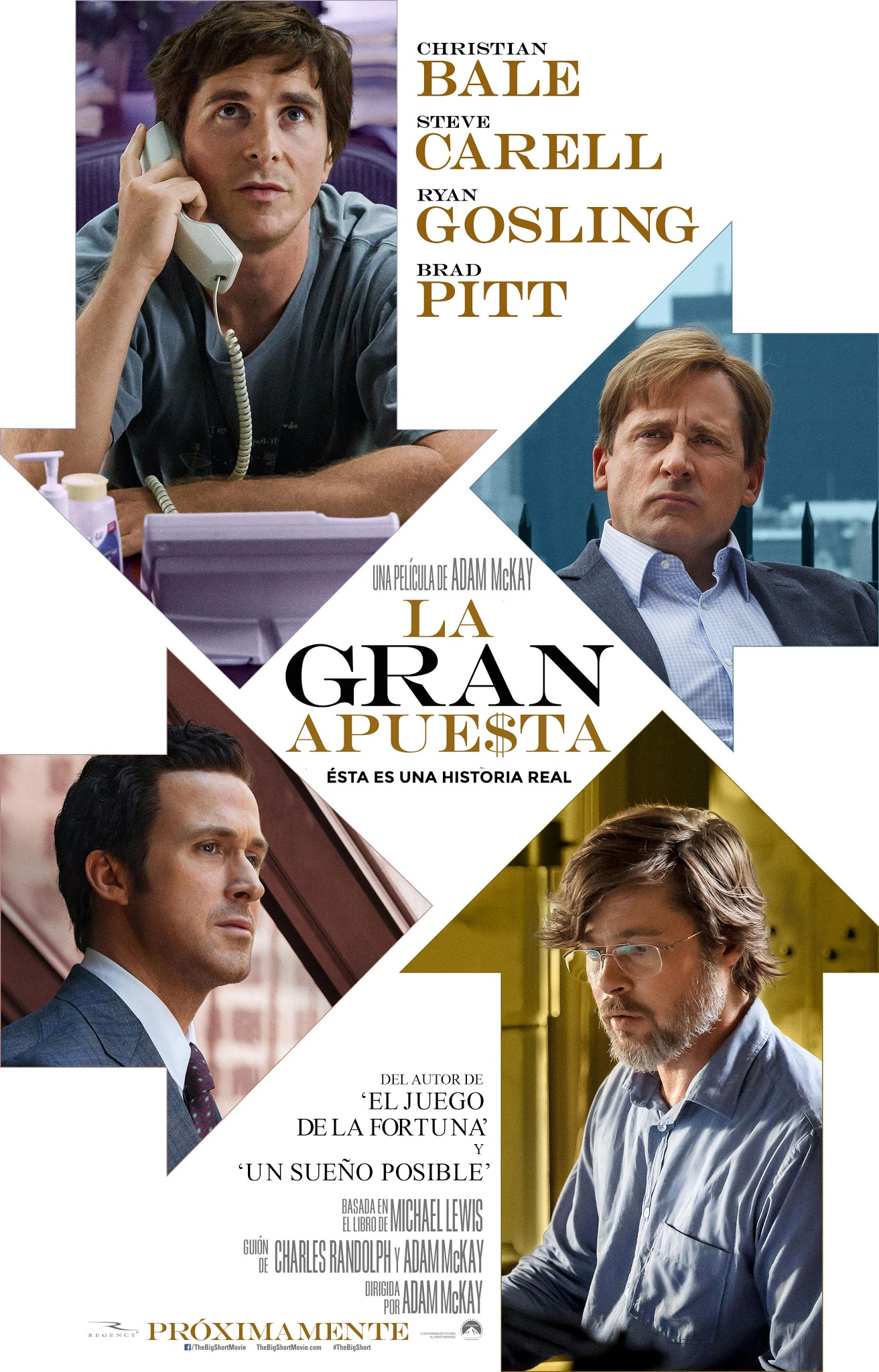 La Gran Apuesta (The Big Short) (2015)