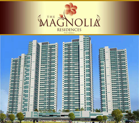 Condo in New Manila Quezon City - The Magnolia Residences