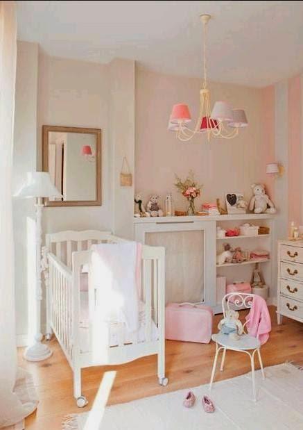 Muebles para bebes en flores for Muebles rosas