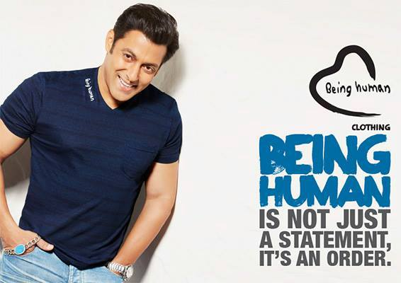Salman Khan Being Human Photoshoot For Summer Collections 2013