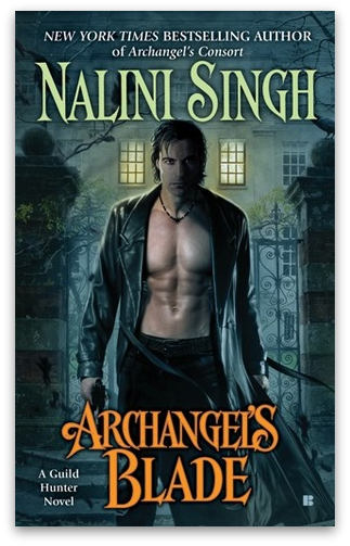 Cover Reveal: Archangel's Blade by Nalini Singh