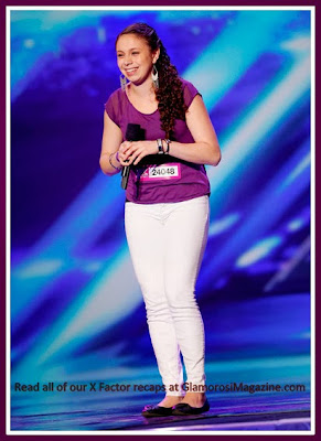 Simone Torres on season 3 of The X Factor