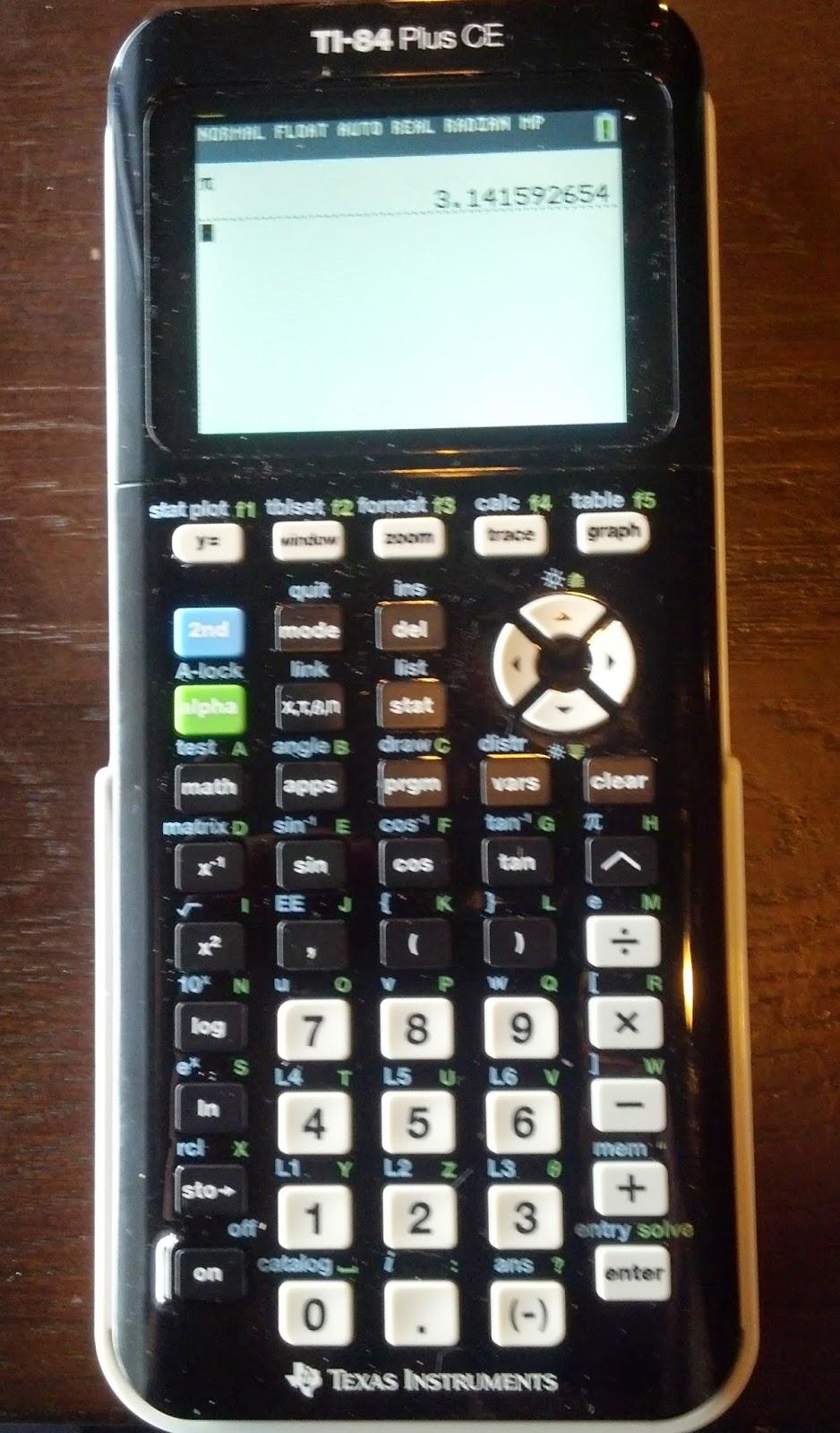 Eddies math and calculator blog review ti 84 plus ce review ti 84 plus ce urtaz Images