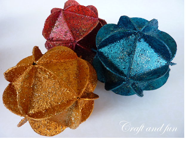 Palline Origami Decorative