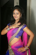 Young actress Jaya Harika in half saree-thumbnail-2