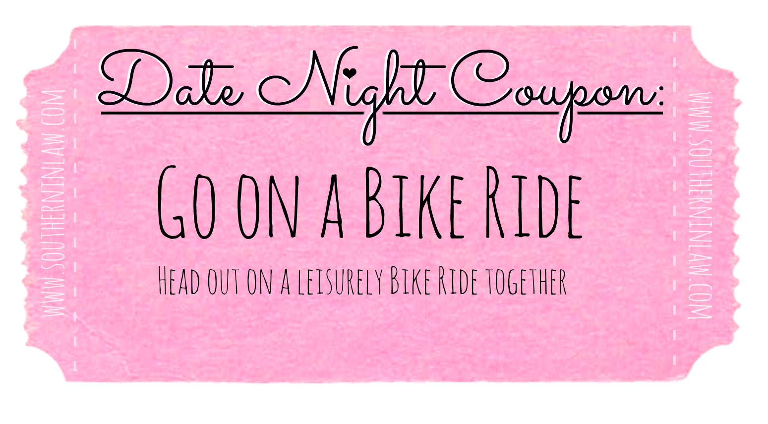 Affordable Date Ideas - Cheap Date Ideas Coupons - Go on a Bike Ride Together