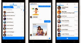 ماسنجر الفيس بوك للأجهزة اللوحية