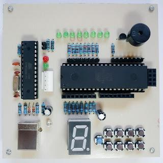 Modul Kit Pembelajaran Mikrokontroler AT89S51 / AT89S52