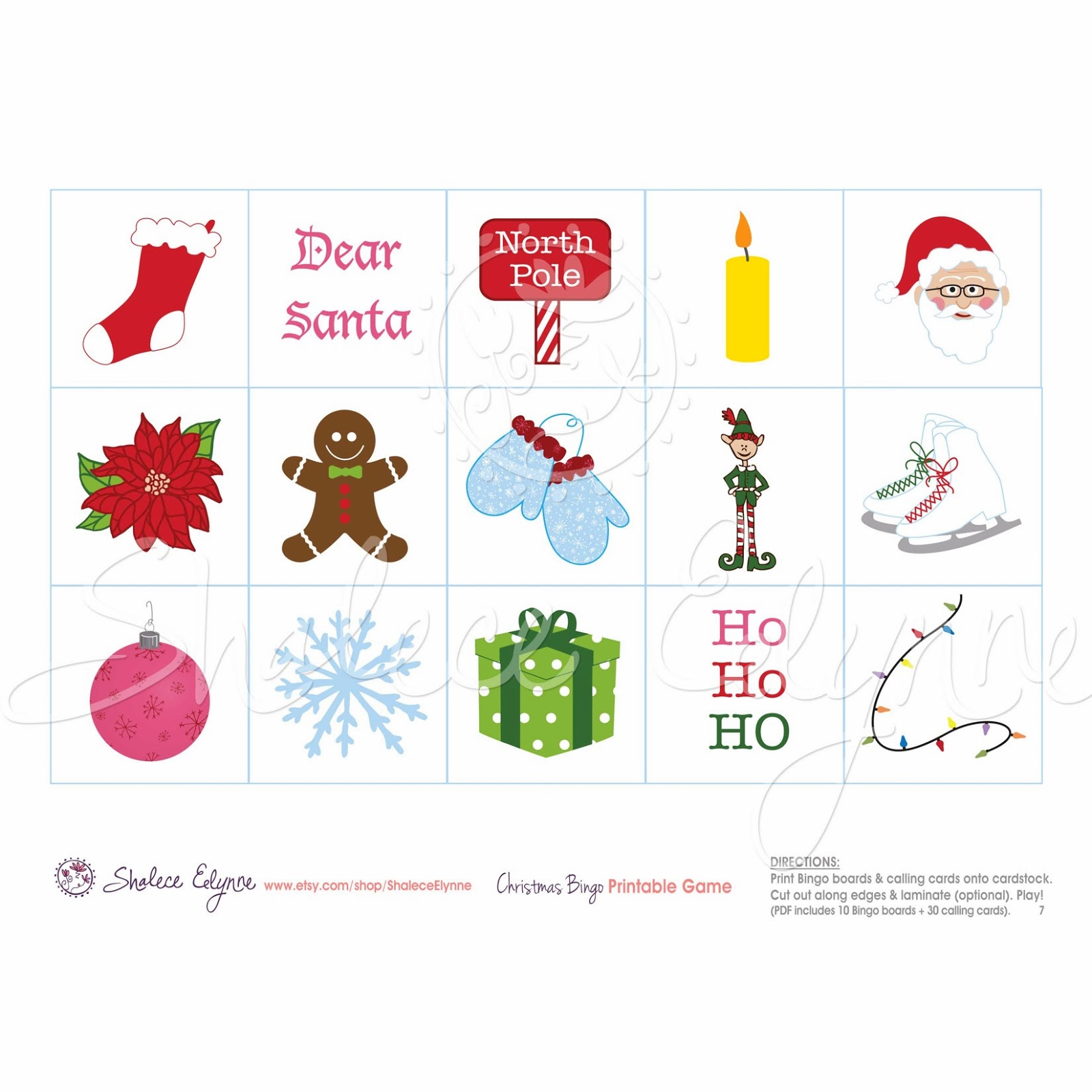 Are you in need of a fun christmas activity for children christmas bingo printable game publicscrutiny Images
