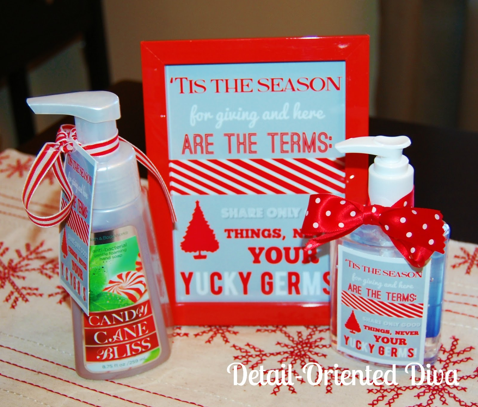 Classroom Gift Ideas ~ Detail oriented diva happy thanksgiving christmas