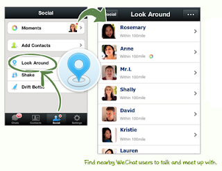 WeChat-Mobile features