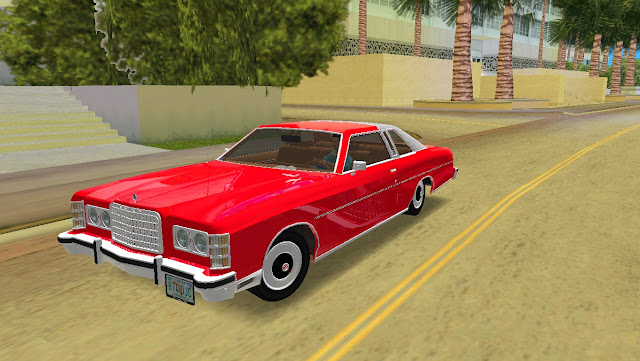 Ford LTD Brougham Coupe 1975 GTA Vice City