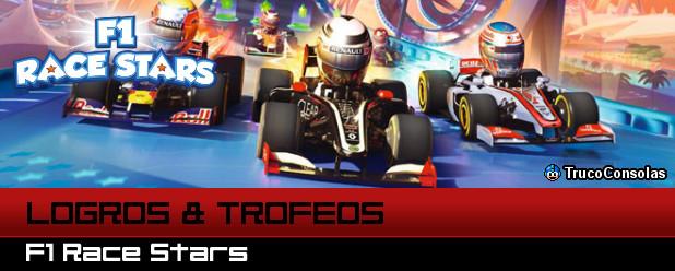Logros y Trofeos F1 Race Stars PS3 XBox 360
