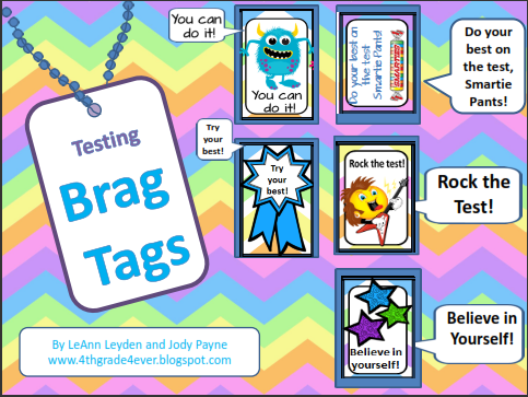 Freebie Testing Brag Tags