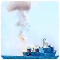 Scuttling of ex HMAS Adelaide