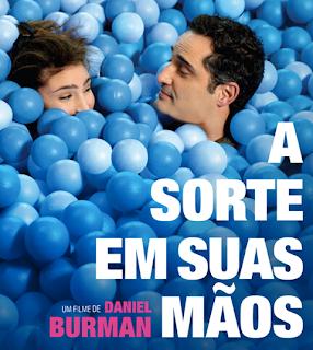 """Poster do filme """"A Sorte Em Suas Mãos"""""""