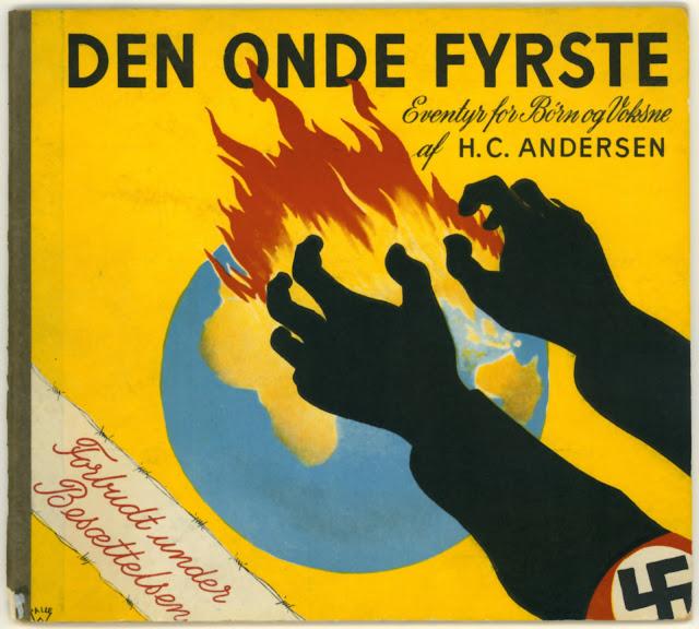Den onde Fyrste - Eventyr for Børn og Voksne af H.C. Andersen - 'Forbudt under Besættelsen'
