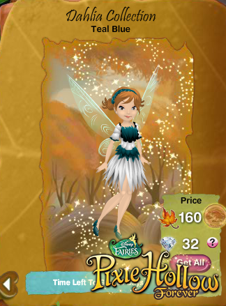 Pixie Hollow Forever: June Fashions ♥